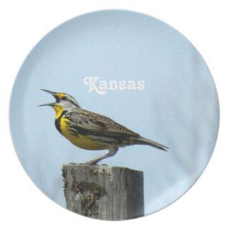 Western Meadowlark Dinner Plate
