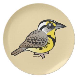 Western Meadowlark Plate