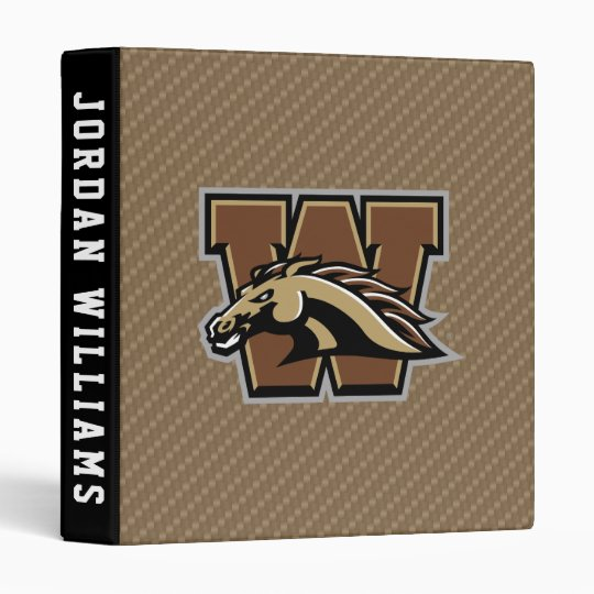 Western Michigan University Carbon Fiber Pattern 3 Ring