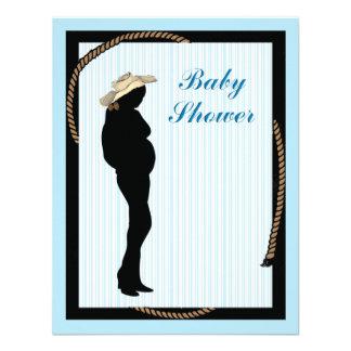 western mom Baby shower Invitation