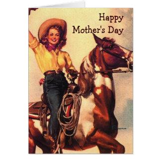 Western Mom Card