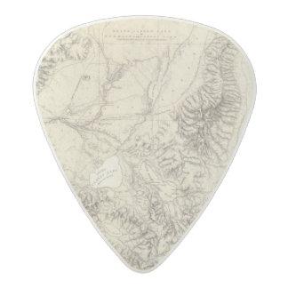 Western Nevada Acetal Guitar Pick