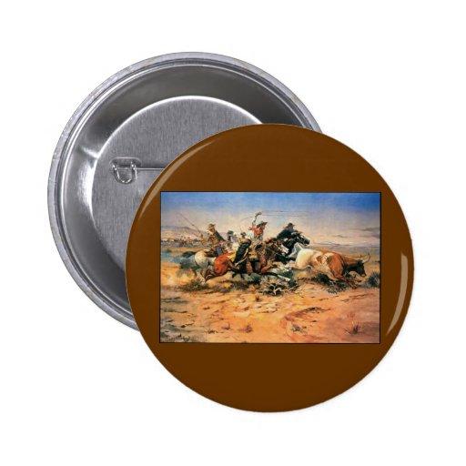 Western Nostalgia 2 Inch Round Button