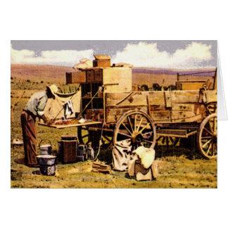 Western Nostalgia Greeting Cards
