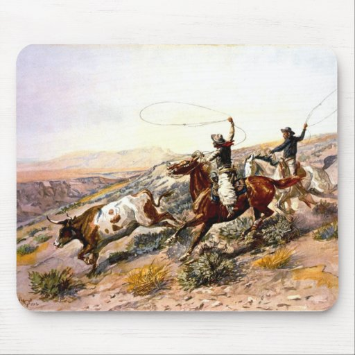 Western Nostalgia Mousepads