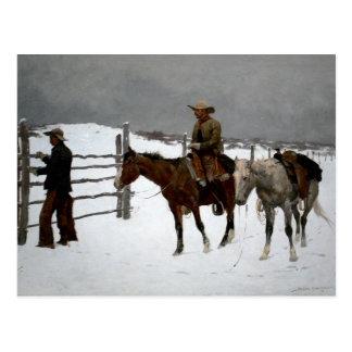 Western Nostalgia Postcard