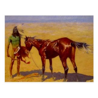 Western Nostalgia Post Card