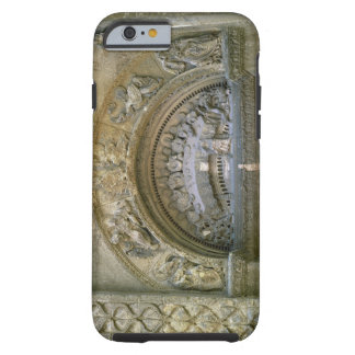 Western opening tympanum depicting the Marriage at Tough iPhone 6 Case
