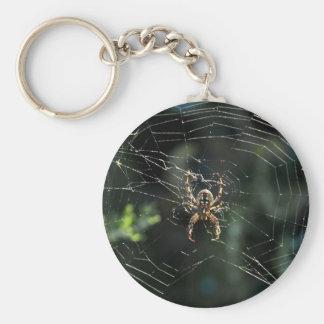 Western Orb Weaver Keychain