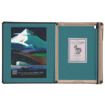 Western Pacific California Zephyr Vintage Poster Case For iPad