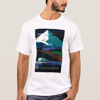 Western Pacific California Zephyr Vintage Poster T-Shirt