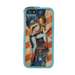 Western patriotic USA country cowgirl iPhone 5/5S Covers