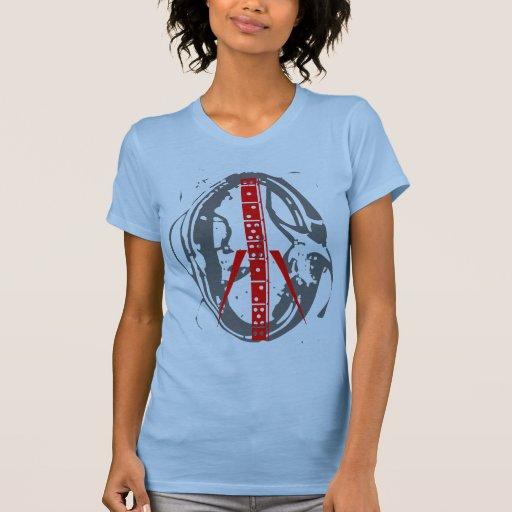 Western Peace 80s Vintage tShirt Retro Dominoes