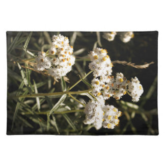 Western Pearly Everlasting Floral Photography Placemat