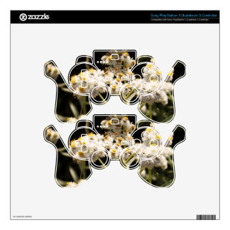 Western Pearly Everlasting Floral Photography PS3 Controller Skins