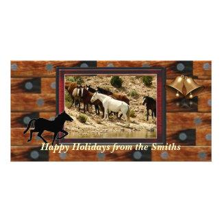 Western photo card