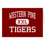 Western Pine - Tigers - West Palm Beach Greeting Cards