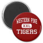Western Pine - Tigers - West Palm Beach Refrigerator Magnet