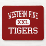 Western Pine - Tigers - West Palm Beach Mouse Pads