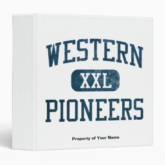 Western Pioneers Athletics Binder