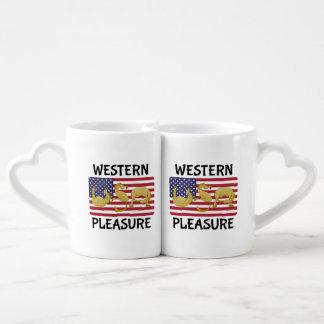 Western Pleasure Horse Coffee Mug Set