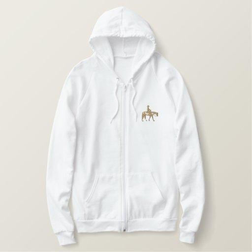 Western Pleasure Horse Embroidered Hoodie