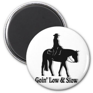 Western Pleasure Horse Low and Slow Magnets
