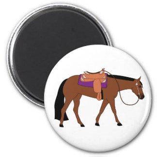 Western Pleasure Horse Refrigerator Magnets