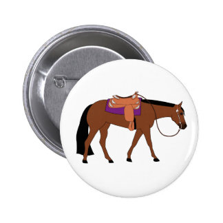 Western Pleasure Horse Pinback Button