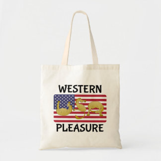 Western Pleasure Horse Tote Bag