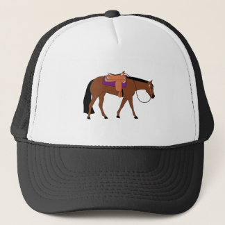 Western Pleasure Horse Trucker Hat