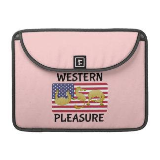 Western Pleasure Horse USA MacBook Pro Sleeve