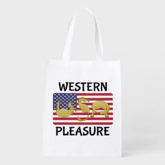 Western Pleasure Horse USA Market Tote