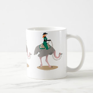 Western Pleasure Ostrich Coffee Mugs