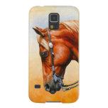 Western Pleasure Quarter Horse Galaxy S5 Covers