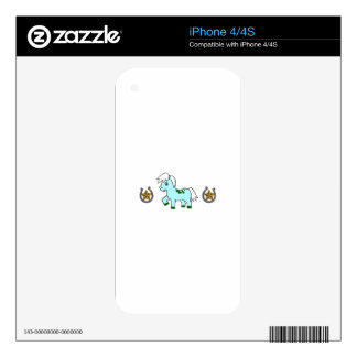 WESTERN PONY BORDER SKINS FOR THE iPhone 4S