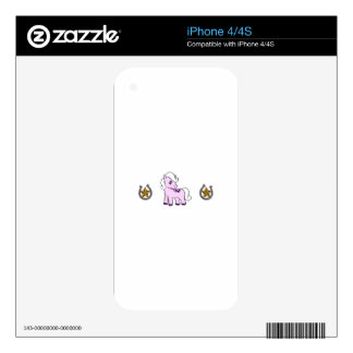 WESTERN PONY BORDER SKIN FOR THE iPhone 4S
