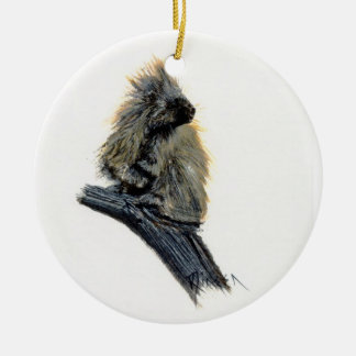 Western Porcupine Ornament
