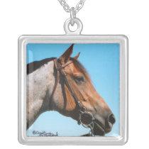 Western Quarter Horse Necklace