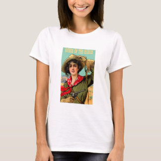 "Western ""Queen of The Ranch"" Ladies T Shirt"