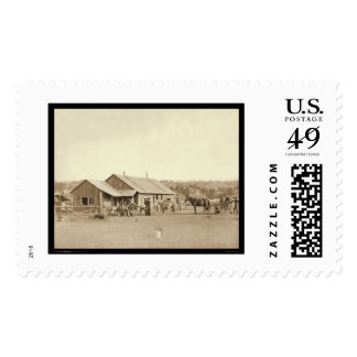 Western Ranch House SD 1888 Postage Stamps