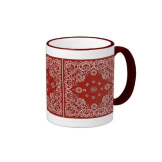 Western Red Bandana MUG or CUP