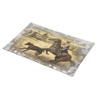 Western Ride Cloth Placemat