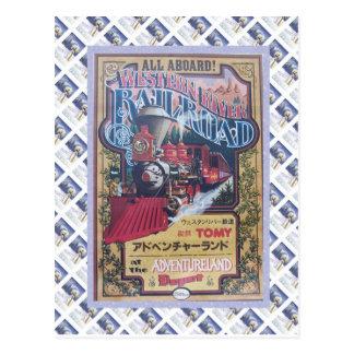 Western River Railroad Postcard