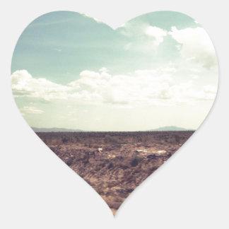 Western Road Heart Sticker