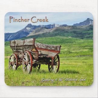 Western Rocky Mountain Landscape Mouse Pad