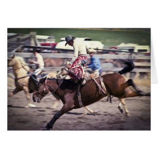 Western Rodeo #1 Greeting Cards