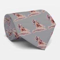 Western Rodeo Calf Roper Necktie