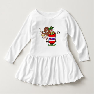 Western Rodeo Clown and Bull Dress