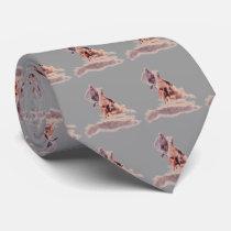 Western Rodeo Cowboy Calf Roping Necktie